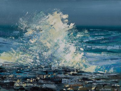 ATLANTIC SURGE by Henry Morgan  at Dolan's Art Auction House