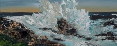 HIGH SEAS by Susan Cronin  at Dolan's Art Auction House
