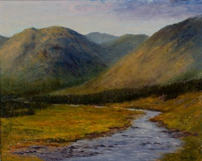 JOYCE COUNTRY, CONNEMARA by Kieran Tobin  at Dolan's Art Auction House