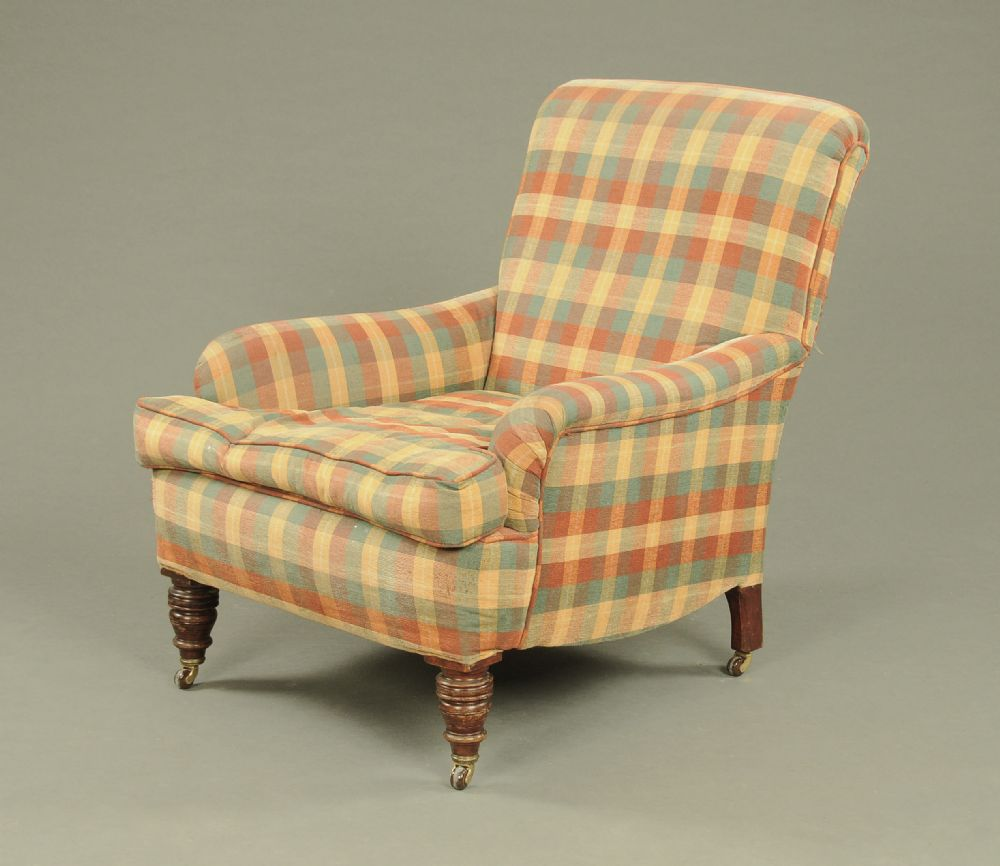 Late Victorian Easy Chair