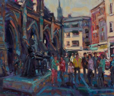 MOLLY MALONE by Norman Teeling  at Dolan's Art Auction House