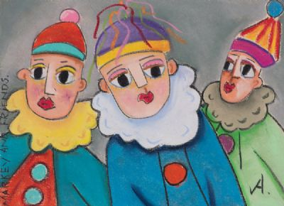 MARKEY & FRIENDS by Annie Robinson  at Dolan's Art Auction House