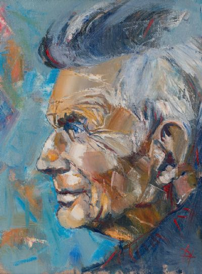 BECKETT by Douglas Hutton  at Dolan's Art Auction House