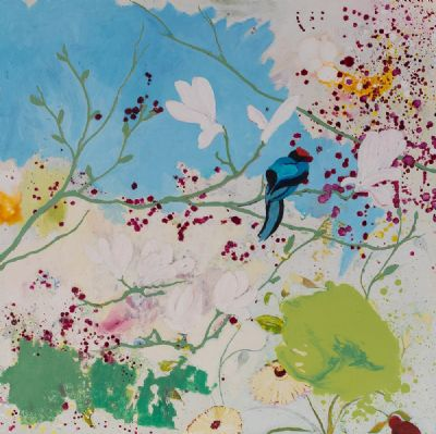 IT IS SPRING AND I AM GLAD by Maggie Morrisson  at Dolan's Art Auction House