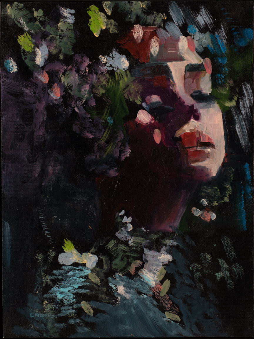 FLOWER GIRL by Susan Cronin  at Dolan's Art Auction House