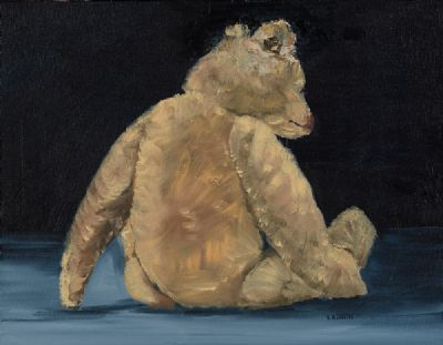 OLD TED by Susan Cronin  at Dolan's Art Auction House