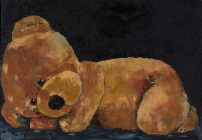 SLEEPING TED by Susan Cronin  at Dolan's Art Auction House