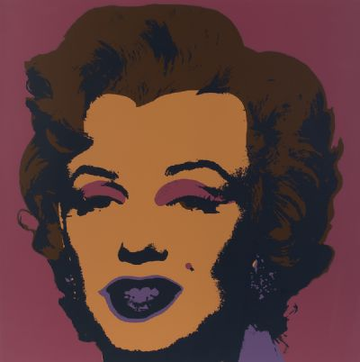 MARILYN by After Warhol  at Dolan's Art Auction House