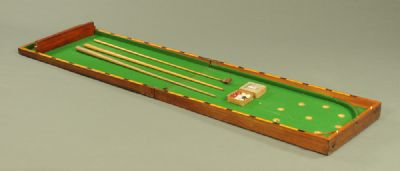 Victorian Billiards Game at Dolan's Art Auction House