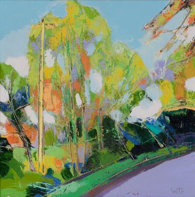 SUMMER SHADES by William Grace  at Dolan's Art Auction House