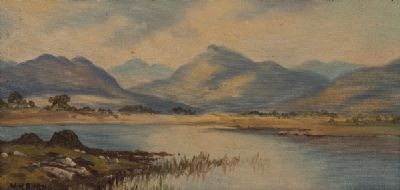 CONNEMARA by William Henry Burns  at Dolan's Art Auction House