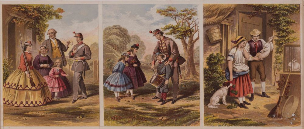 Victorian Engravings at Dolan's Art Auction House