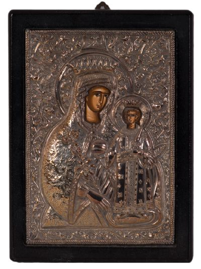 Byzantine Style 'Madonna and Child' etc at Dolan's Art Auction House